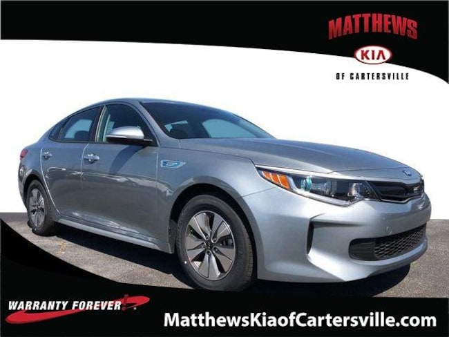 New 2018 Kia Optima Hybrid Premium Sedan in Cartersville, GA