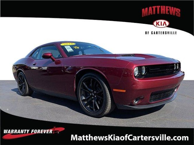 Used 2018 Dodge Challenger SXT Coupe in Cartersville, GA