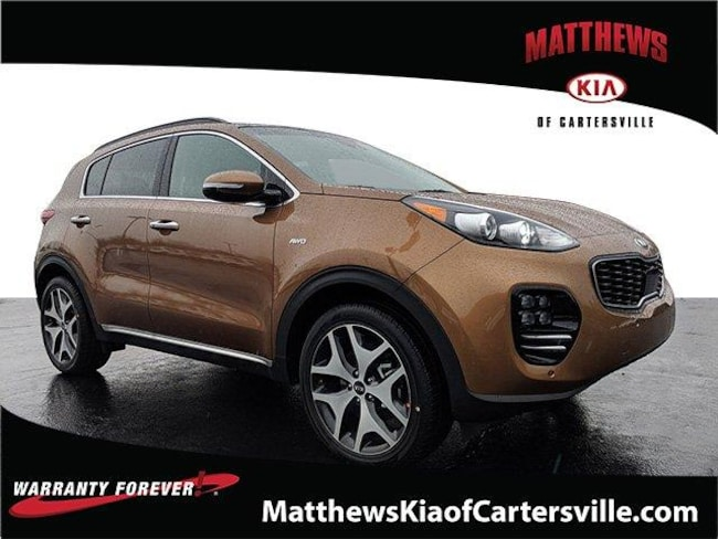 New 2019 Kia Sportage SX Turbo SUV in Cartersville, GA
