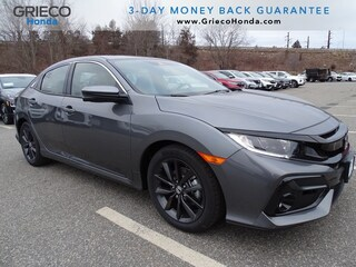 New 2021 Honda Civic EX Hatchback SHHFK7H68MU407852 for sale in Johnston, RI at Grieco Honda
