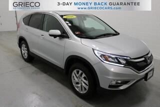 Used 2016 Honda CR-V EX SUV for sale in Johnston, RI at Grieco Honda