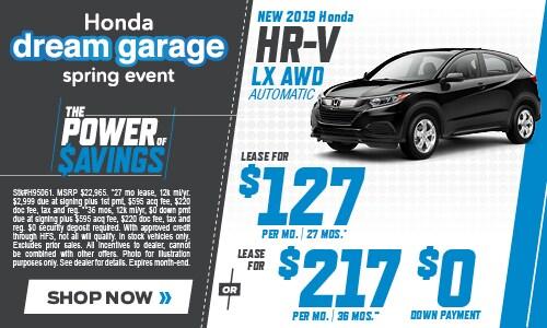 New 2019 Honda HR-V 4/11/2019