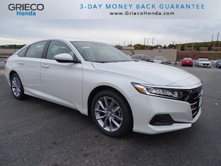 New 2021 Honda Accord LX 1.5T Sedan 1HGCV1F14MA002744 for sale in Johnston, RI at Grieco Honda