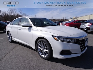 New 2021 Honda Accord LX 1.5T Sedan 1HGCV1F16MA046275 for sale in Johnston, RI at Grieco Honda