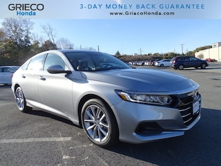 New 2021 Honda Accord LX 1.5T Sedan 1HGCV1F18MA000074 for sale in Johnston, RI at Grieco Honda