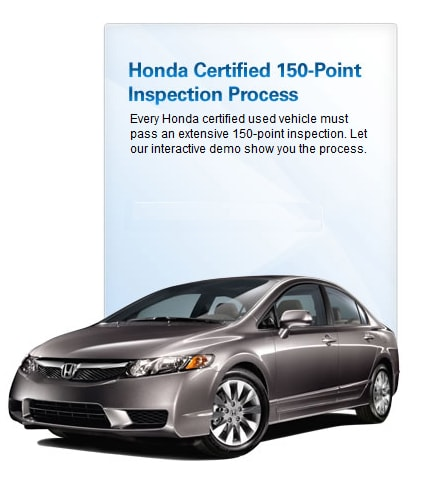 Honda Certified Used Cars >> Honda Certified Used Cars In Johnston Certification Standards