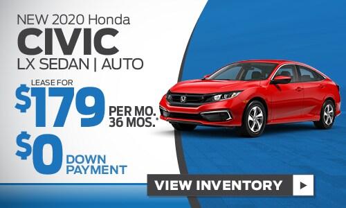 NEw 2020 Honda Civic