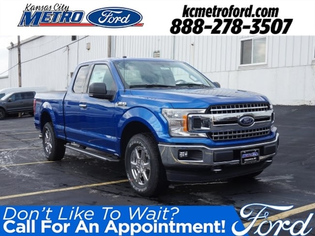 New 2018 Ford F-150 XLT Truck SuperCab Styleside Independence, MO