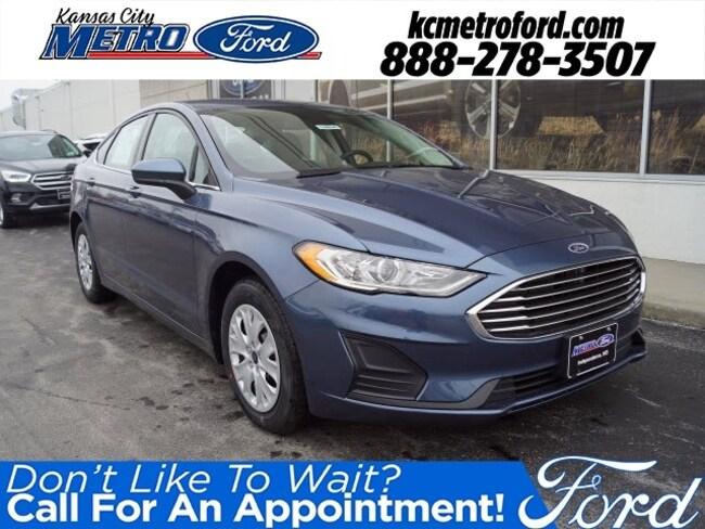 New 2019 Ford Fusion S Sedan Independence, MO