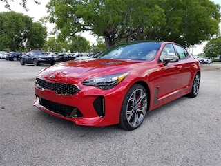 New 2018 Kia Stinger GT2 Sedan KNAE55LC9J6036534 for sale in Delray Beach at Grieco Kia of Delray Beach
