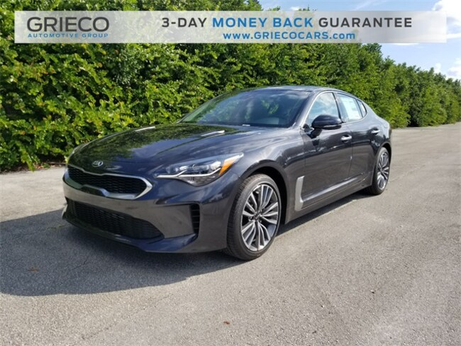 New 2019 Kia Stinger Sedan Delray Beach, FL
