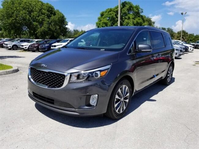New 2018 Kia Sedona SX Van Passenger Van Delray Beach, FL
