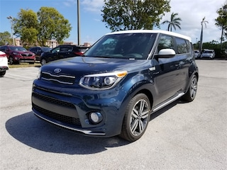 New 2018 Kia Soul + Hatchback KNDJP3A52J7575754 for sale in Delray Beach at Grieco Kia of Delray Beach