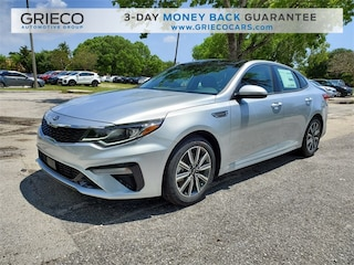 New 2019 Kia Optima EX Sedan 5XXGU4L14KG353213 for sale in Delray Beach at Grieco Kia of Delray Beach