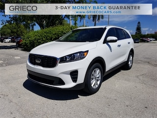 New 2019 Kia Sorento 2.4L LX SUV 5XYPG4A37KG527055 for sale in Delray Beach at Grieco Kia of Delray Beach