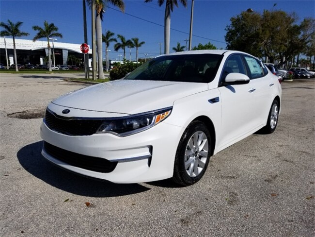 New 2018 Kia Optima LX Sedan Delray Beach, FL