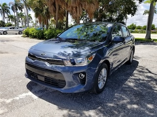 New 2018 Kia Rio EX Sedan 3KPA34AB3JE081734 for sale in Delray Beach at Grieco Kia of Delray Beach