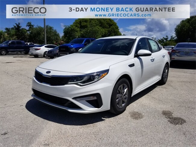 New 2019 Kia Optima LX Sedan Delray Beach, FL