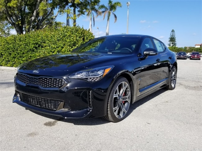 New 2018 Kia Stinger GT2 Sedan Delray Beach, FL