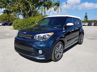 New 2018 Kia Soul + Hatchback KNDJP3A58J7605629 for sale in Delray Beach at Grieco Kia of Delray Beach