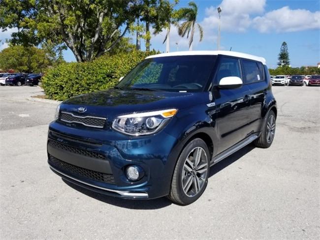 New 2018 Kia Soul + Hatchback Delray Beach, FL