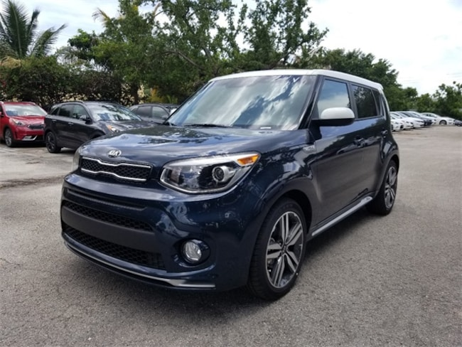 New 2018 Kia Soul + Hatchback Delray Beach, FL