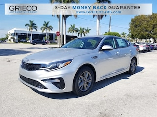 New 2019 Kia Optima LX Sedan 5XXGT4L38KG327461 for sale in Delray Beach at Grieco Kia of Delray Beach