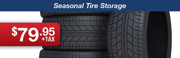 Seasonal Tire Storage Promotion