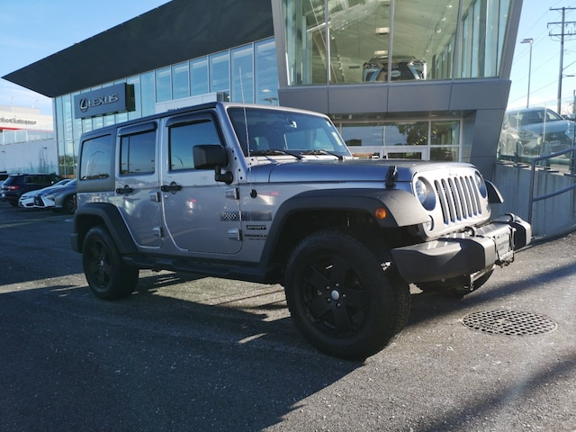 2016 Jeep Wrangler Unlimited Sport No Accidents Local B.C. SUV