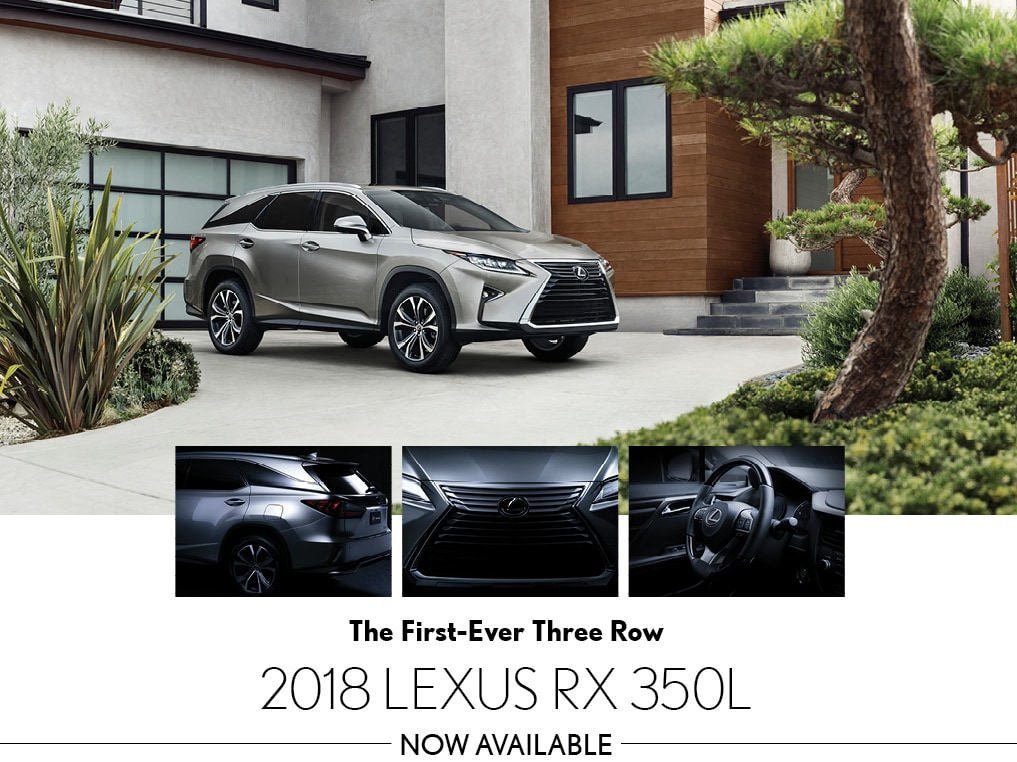 All-New Lexus RX 350L