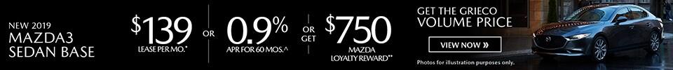 Sep - 2019 Mazda Mazda3