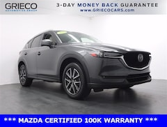 Certified 2018 Mazda CX-5 Grand Touring SUV M37452A for sale at Grieco Mazda of Delray Beach