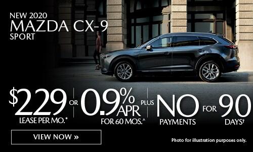 New 2020 Mazda CX-9