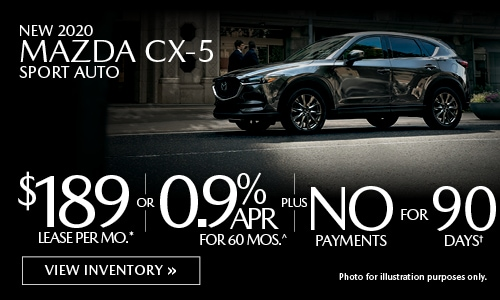 New 2020 Mazda CX-5
