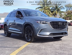 New 2021 Mazda Mazda CX-9 Carbon Edition SUV for sale at Grieco Mazda of Delray Beach