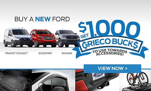 Get $1000 Grieco Bucks