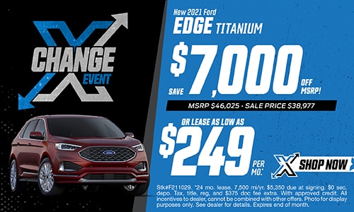 New 2021 Ford Edge