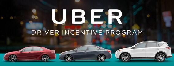 Uber Incentive Program | Metro Toyota