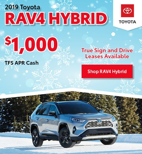 December 2019 Toyota RAV4 Hybrid