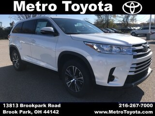 New Toyotas for sale 2019 Toyota Highlander LE SUV in Cleveland, OH