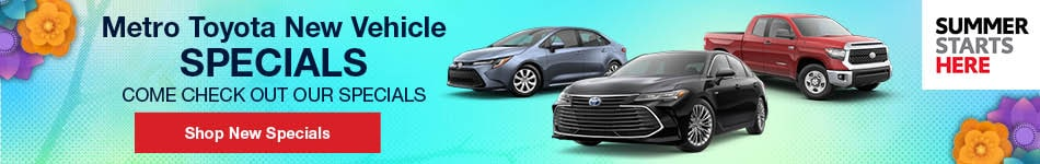 May 2019 Monthly Toyota Specials