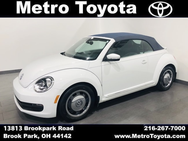 Used 2016 Volkswagen Beetle 1.8T Convertible in Brook Park, OH near Cleveland