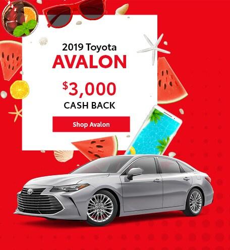 June 2019 Toyota Avalon