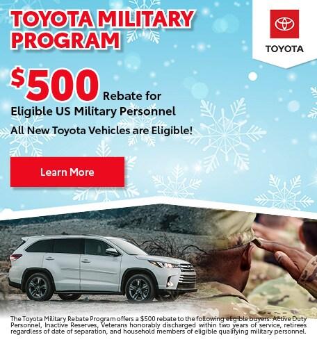 December 2019 Military Program