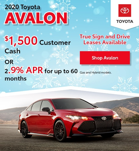 December 2020 Toyota Avalon