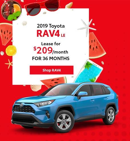 June 2019 Toyota RAV4