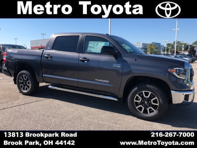 New 2019 Toyota Tundra SR5 Truck CrewMax in Brook Park, OH near Cleveland