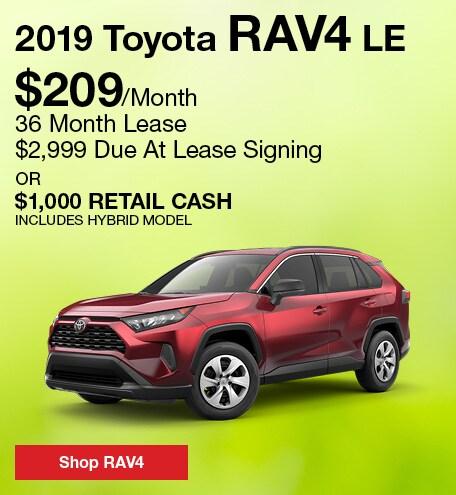 April 2019 Toyota RAV4