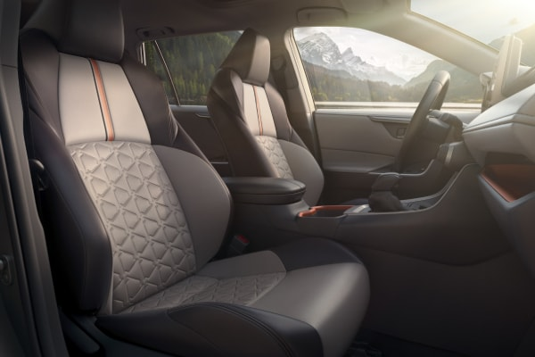 New RAV4 Front seats
