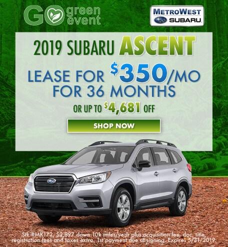 May 2019 Subaru Ascent